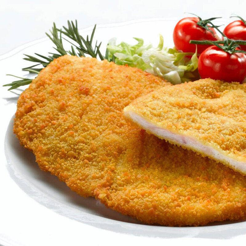 Cotolette sottilissime di pollo panato