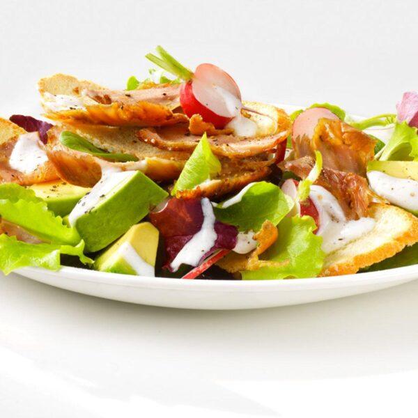 insalata di kebab di pollo